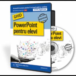 Ghid PowerPoint pentru elevi CD