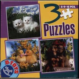 3 Puzzle - Animale 2