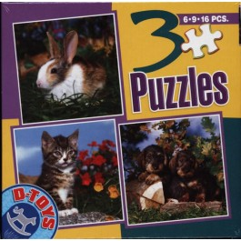 3 Puzzle - Animale 1