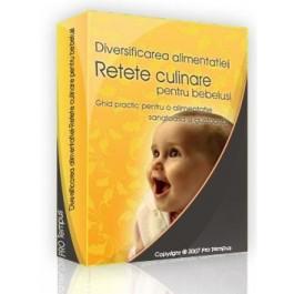 CD Diversificar alimentatie - Retete culinare bebelusi