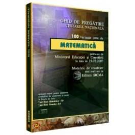 Ghid pregătire-evaluare Matematica EN 100 teste