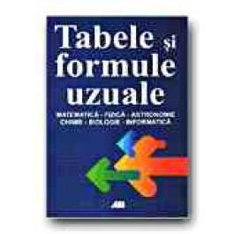 TABELE - FORMULE UZUALE.