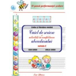 Caiet de scriere - activitati completare abecedar - Metoda 2