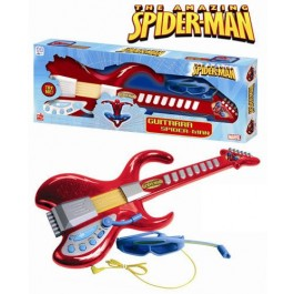 Chitara cu ochelari - microfon Spiderman