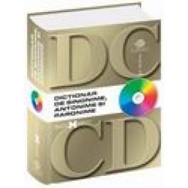 DICTIONAR DE SINONIME, ANTONIME  - PARONIME CU CD