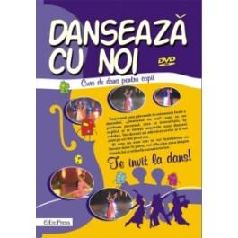 Danseaza cu noi -DVD -Curs de dans pentru copii