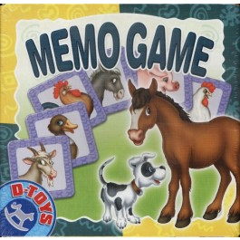 MEMO GAME ANIMALE