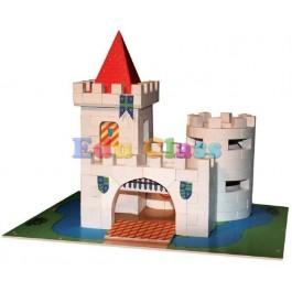 Micul Arhitect - Fortifica Castelul medival- cutie mare
