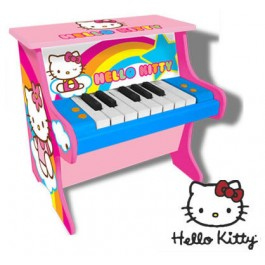 Pian lemn Hello Kitty