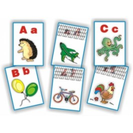 Planse didactice - Alfabetul