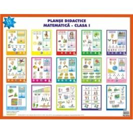 Planse didactice - Matematica cls. a I- a. Adunarea - scaderea