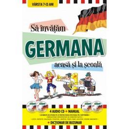 Sa invatam GERMANA ACASA - LA SCOALA - DICTIONAR