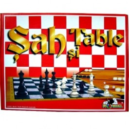 Sah - Table in cutie de carton