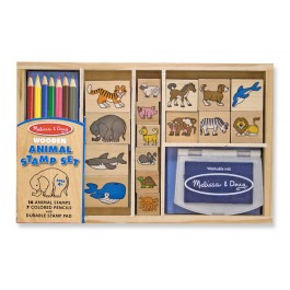 Set de stampile cu Animale