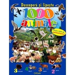 Descopera - lipeste - 1000 animale