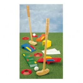 Joc golf din lemn pentru copii
