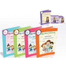 """EDU Set educativ """"Prin lumea povestilor"""" pentru grupa mijlocie 4-5 ani"""