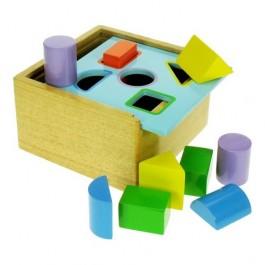joc sortare forme din lemn