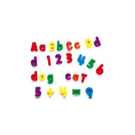 Litere, cifre si forme - Set magnetic