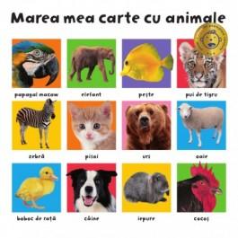Marea mea carte cu animale (Vârsta 0+)