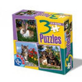 3 Puzzle - Animale B