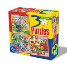 3 Puzzle - Meserii
