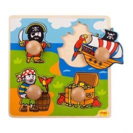 puzzle cu pirati