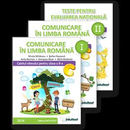 Set comunicare în limba română - Clasa a II-a - caiete activitati
