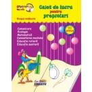 Gradinita vesela - Caiet de lucru pt prescolari - grupa mijlocie