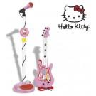 Set chitara - microfon Hello Kitty