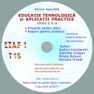 Educatie tehnologica si aplicatii practice Tehno 18