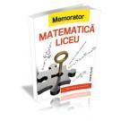 Memorator matematica pentru liceu