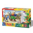 PUZZLE 24 COLOR ME BASME